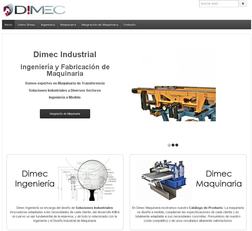 Nueva Página Web Dimec